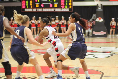 GWU women's basketball took on Charleston Southern and won 70-54.