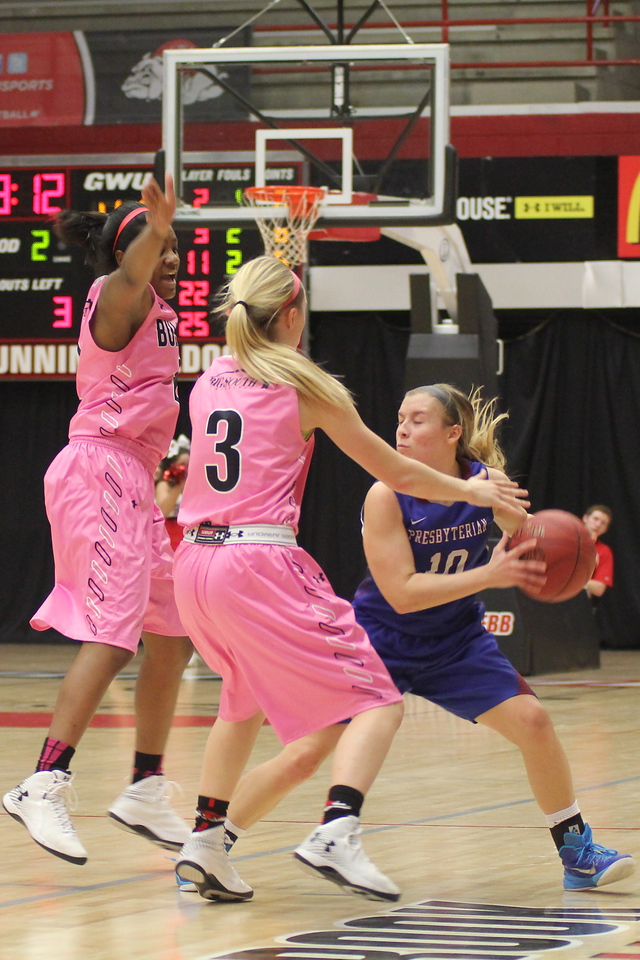 On Monday evening, GWU Women's Basketball took on Presbyterian College at 7PM. Gardner-Webb took the win at 50-47 within the last few minutes.