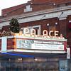 JOED VIERA/STAFF PHOTOGRAPHER- Lockport, NY-The Palace marquee promotes Lockports . Friday, January, 16, 2015