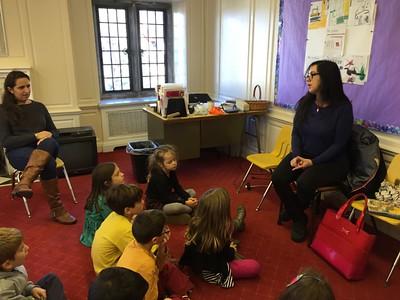 Jewish Book Month in Religious School