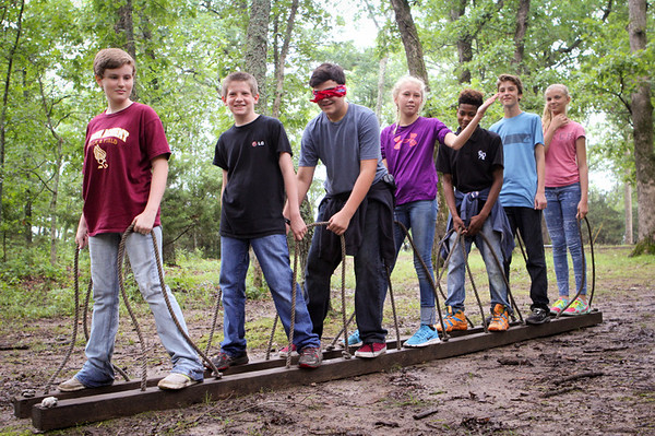 CIP Low Ropes on Monday, June 8