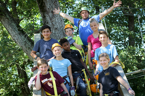 Wednesday, June 10 - High Ropes!