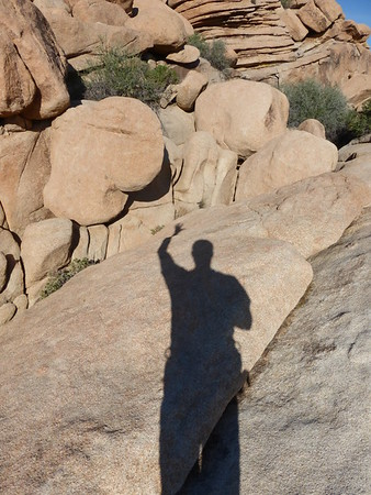 Josh hiking & climbing, Mar 21, 2015