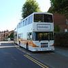 Heyfordian Volvo Olympian Alexander RH ESU940 in Aylesbury.