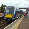 Northern Ireland Railways CAF class 4000 DMU no. 4020 arrives at Sydenham with a Bangor service.