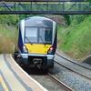 Northern Ireland Railways CAF class 4000 DMU no. 4020 leaves Cultra for Bangor.