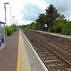 Sydenham NIR station for Belfast City Airport.