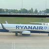 Ryanair Boeing 737-800 EI-DLY at Birmingham Airport on a flight to Ibiza.