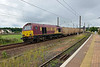 13 July 2015 :: 67020 is seen passing Dunbar with 6B45 'waste train' from Powderhall to Oxwellmains