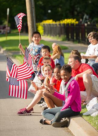 JOED VIERA/STAFF PHOTOGRAPHER-Lockport, NY-Kids enjoy Lockport's Independance Day Parade.