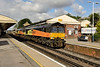 30 July 2015 :: 66850 / 849 pass through Basingstoke with 6Y41 from Eastleigh  to Hoo Junction