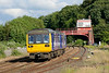 14 July 2015 :: 142070 is arriving into Hexham with 2N43 the 1724 Newcastle to Hexham