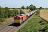 15 July 2015 :: 60059 is heading north at Elford with 6E41 from Westerleigh to Lindsey