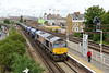 23 July 2015 :: In GBRf grey, 66747 is pictured at Wandsworth Road with 6O69 from Neasden to Tonbridge