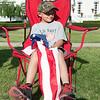 JOED VIERA/STAFF PHOTOGRAPHER-Lockport, NY-Tanner Gurnett 8 watches Lockport's Independance Day Parade.