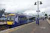 12 July 2015 :: Scotrail 170 396 is seen stabled in Platform 5 at Stirling