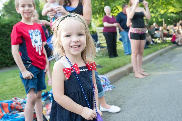 JOED VIERA/STAFF PHOTOGRAPHER-Lockport,NY-Sophia Tatu 3 enjoys Lockport's Independance Day Parade.