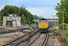 29 July 2015 :: 66745 is approaching Basingstoke Station powering 6Y41 gypsum train from Mountfield to Southampton
