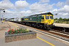 21 July 2015 :: 66593 passes through Didcot with 4L31 Bristol to Felixstowe