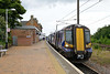 13 July 2015 :: 380101 waits at Dunbar to form 2D86, the 1050 to Edinburgh