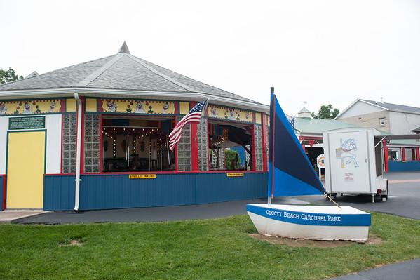 JOED VIERA/STAFF PHOTOGRAPHER-Olcott, NY- The Olcott Carousel Park.