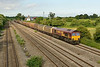 2 July 2015 :: 66027 is passing Undy with 6V47 from Tilbury to Trostre