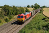 15 July 2015 :: In afternoon light, 60001 is passing Elford with 6E08 from Wolverhampton to Immingham