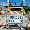 JOED VIERA/STAFF PHOTOGRAPHER-Lockport, NY- The Adams Street Bridge.