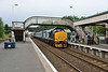 10 July 2015 :: 37409 is arriving into Millom station with 2C32, the 0515 from Carlisle to Barrow-in-Furness
