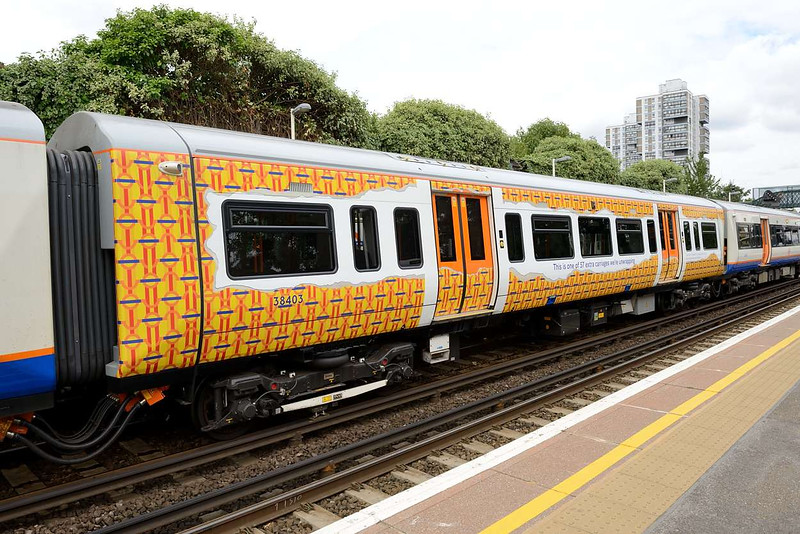 23 July 2015 :: A closer look at the new coach with its 'wrap' vinyl's