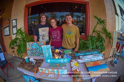 Jax Beach Art Walk 6.9.15