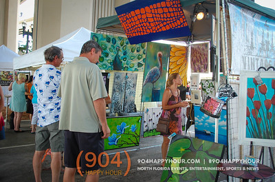 Saturday at Riverside Arts Market - 6.27.15