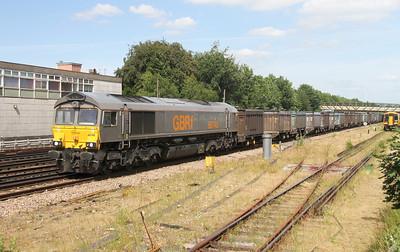 66748 Basingstoke 29/06/15 4Y19 Mountfield to Southampton Western Docks