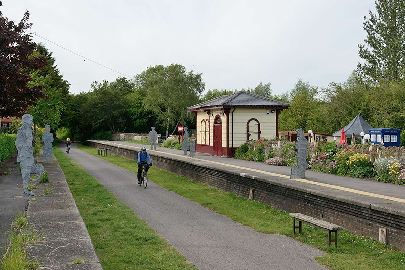 16 June 2015 :: The cycle route through the old station of Warmley