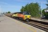 24 June 2015 :: 70803 is at Basingstoke working 6Y41 from Eastleigh to Hoo Junction