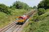 29 June 2015 :: 59202 is pictured at Baulking working 6C48 from Appleford to Whatley