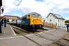 6 June 2015 :: 56006 is seen departing from Williton working the 1155 from Minehead