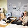 JOED VIERA/STAFF PHOTOGRAPHER-Lockport, NY-City Clerk Richelle Pasceri speaks to the US&J about Lockport's  new website.