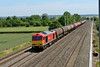 18 June 2015 :: 60092 passes Cholsey with 6B33, empty oil from Theale to Robeston