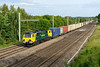 18 June 2015 :: 70008 is pictured passing Lower Basildon with 4M99 from Southampton to Trafford Park