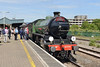 4 June 2015 :: LNER B1 Class 4-6-0 no 61306 Mayflower has just arrived at Bristol Temple Meads having worked 1Z82, The Cathedrals Express from Victoria