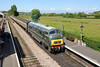 6 June 2015 :: D832 arriving at Williton with the 1345 from Minehead