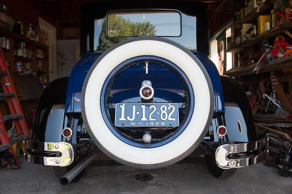 JOED VIERA/STAFF PHOTOGRAPHER-Lockport, NY-Joe Kurtz 1926 Buick.