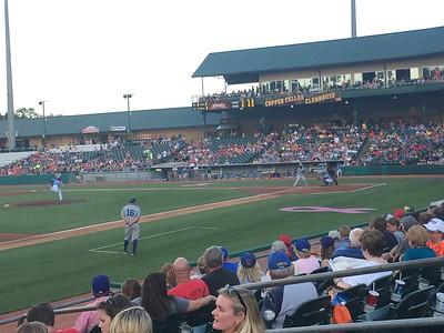June 5, 18, 19 - Tennessee Smokies Baseball Games