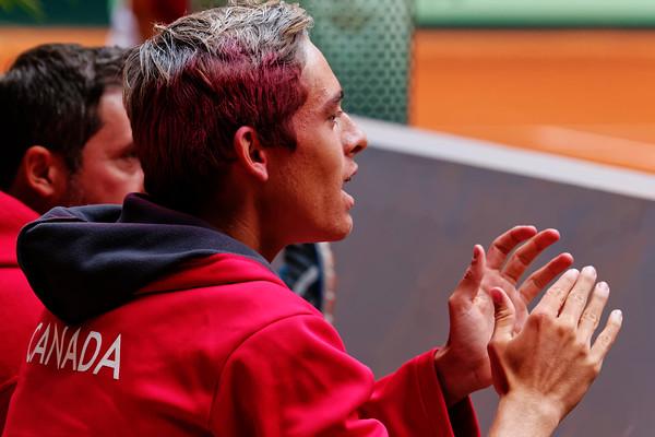 102. Benjamin Sigouin support his team - Junior Davis and Fed Cup Finals 2015_102