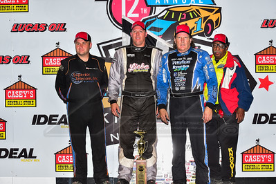 Mike Marlar (L), Chad Simpson (C), and Scott Bloomquist (R)