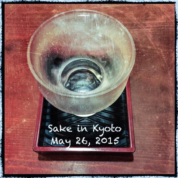05-25-15 - Sake & Sashimi (Date on photo is wrong)