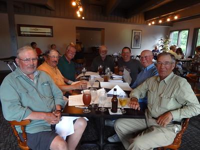 CHUCK,DEAN,TOM,DARREL,JAY, TOM,& DOUG   JUNE 2015 LEECH LAKE TRIP