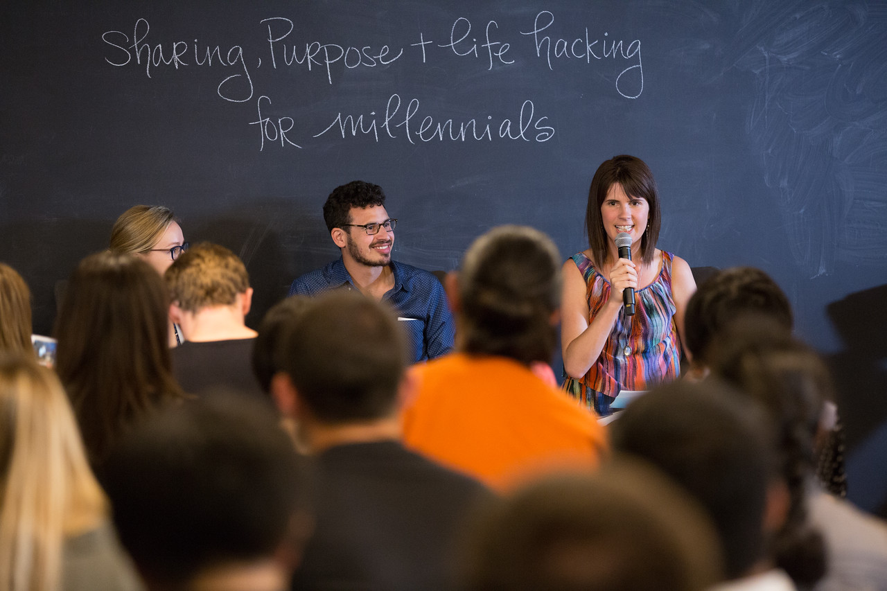 SHARING,PURPOSE,&LIFE HACKING FOR MILLENNIALS