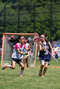 Cailyn(#3) playing at the Lacrosse Jamboree at Lincoln Sudbury